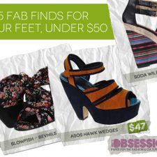 5 Fab Finds for Your Feet, Under $50