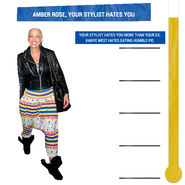 Amber Rose, Your Stylist Hates You