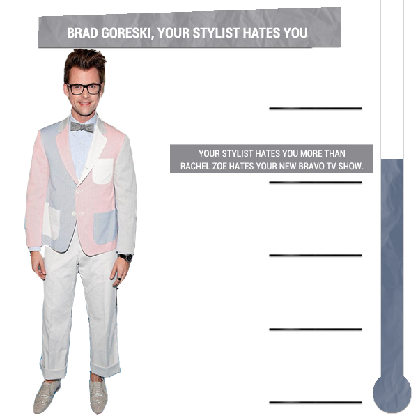 Brad Goreski,  Your Stylist Hates You