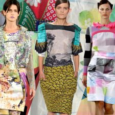 Dressing in Digital: Techno-Color and Hyper-Surreal Textiles