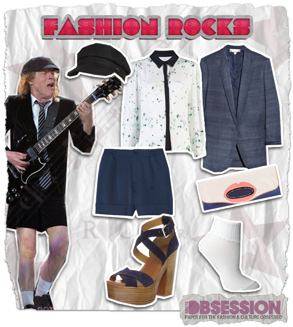 Fashion Rocks: AC/DC's Angus Young's Style Revisited