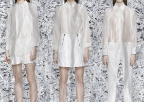 Acne Debuts All White Capsule Collection