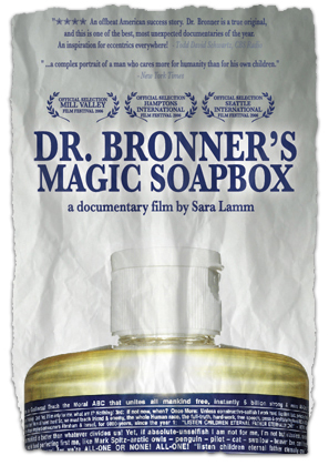 Beauty At The Movies: Dr Bronner's Magic Soapbox