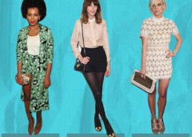 Best Dressed: Solange Knowles, Alexa Chung And Ashlee Simpson