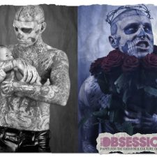 Return of the Living Dead: Rick Genest Lands Magazine Cover
