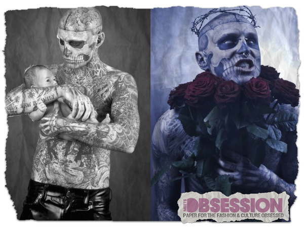 Return of the Living Dead: Rick Genest Lands Magazine