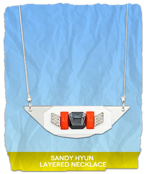 Sandy Hyun Layered Necklace