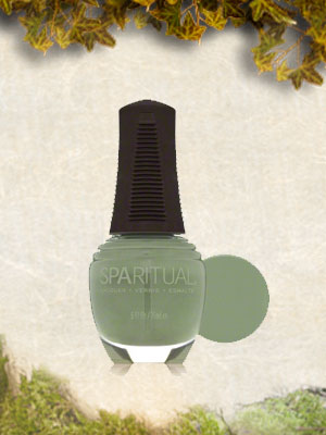 SpaRitual Evolve Nail Polish In Moss