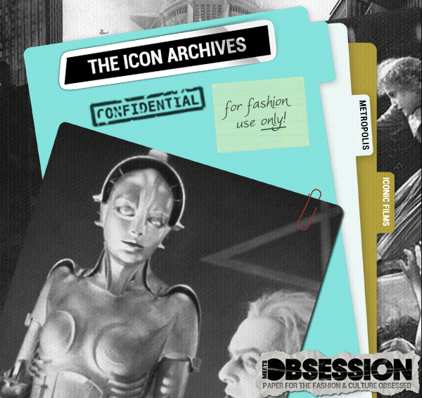 "The Icon Archives: Fritz Lang's ""Metropolis"""