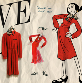 The Standard Hotel Pays Tribute to Cartoon Character Olive Oyl's Vintage 40s Style (2)