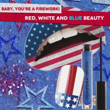 Baby, You're a Firework! Red, White and Blue Beauty