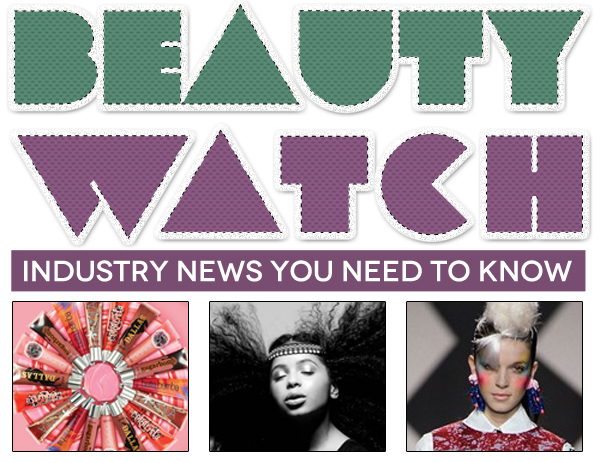 """Beauty Watch: Louise Gray Makeup Collection for Topshop, """"Rock of Ages"""" Nail Strips, Benefit's Cult-Favorite Lip Glosses"""