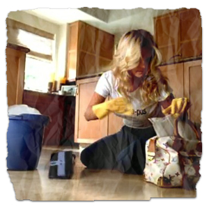 "Jessica Simpson Mopping In ""With You"" Video"