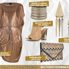 Mixing Metallics: Summer's Midas touch