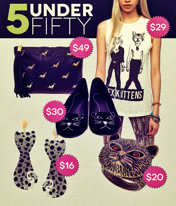 5 Under Fifty: Fashion & the Furry Feline