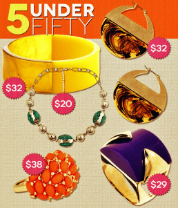 5 Under Fifty: Rad Resin Accessories