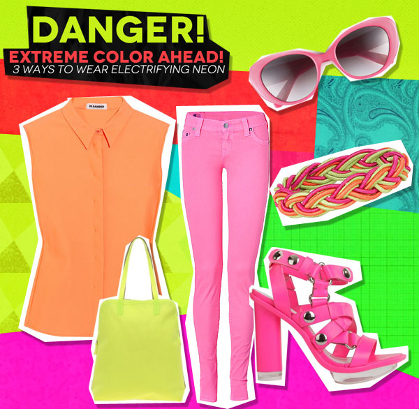 Danger! Extreme Color Ahead: 3 Ways to Wear Electrifying Neon (3)