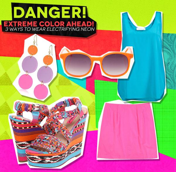 Danger! Extreme Color Ahead: 3 Ways to Wear Electrifying Neon (4)