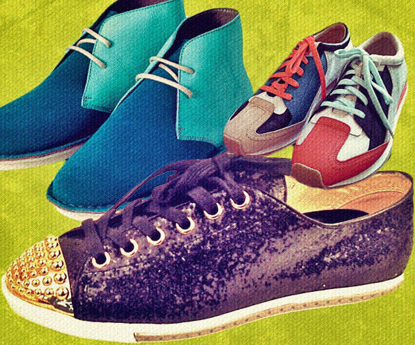 Elizabeth & James Introduce Sneakers to Resort 2013 Collection