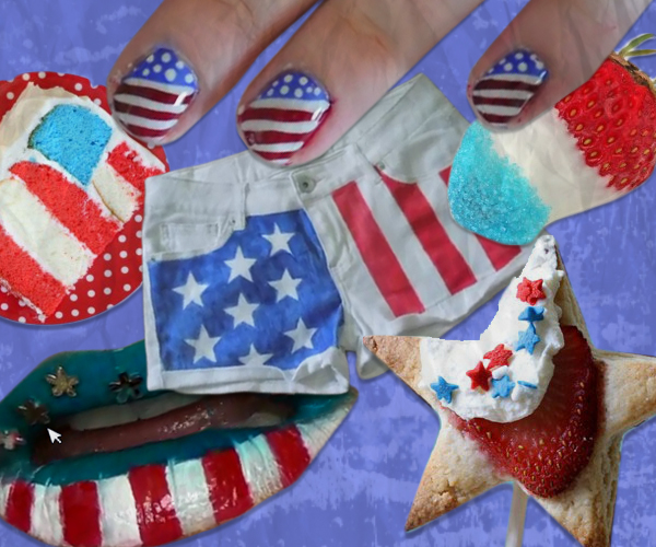 Get Festive For The 4th Last Minute DIY Ideas