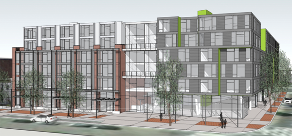 Seattle-based Miller Hull proposed design plan for Florida Avenue space. (1)