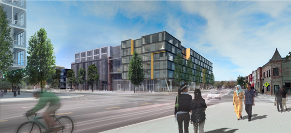 Seattle-based Miller Hull proposed design plan for Florida Avenue space. (3)