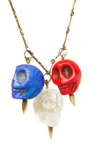 Pamela Love Skull Necklace