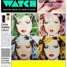 "Beauty Watch: Nars x Andy Warhol Collection Revealed, Battle Over Ownership of ""Caviar Nails,"" Hairspray Confessions with Coca Rocha"
