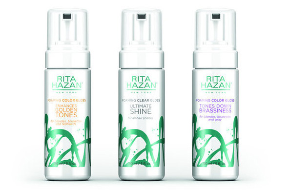 Breaking Brass: Rita Hazan's Highlight Helping Hair Gloss