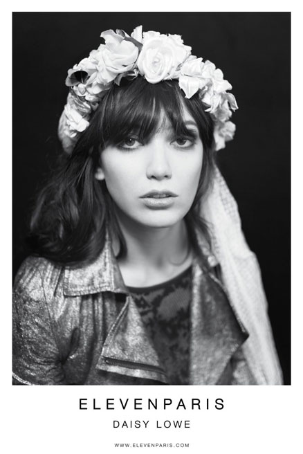 The Legend and the Love Child: Iggy Pop and Daisy Lowe for Eleven Paris (2)