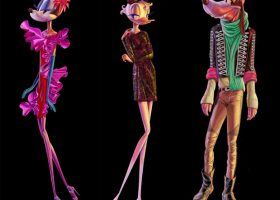 Disney's Daisy Duck, Minnie Mouse And Goofy Get High Fashion Makeovers For Barneys New York