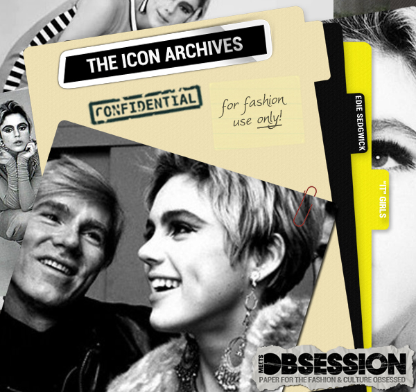 The Icon Archives: Warhol's Superstars  Edie Sedgwick (3)