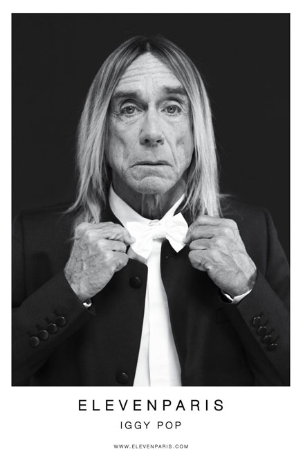 The Legend and the Love Child: Iggy Pop and Daisy Lowe for Eleven Paris (4)