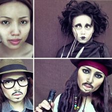 Makeup Artist Transforms Herself into Johnny Depp in 3-Minute Video