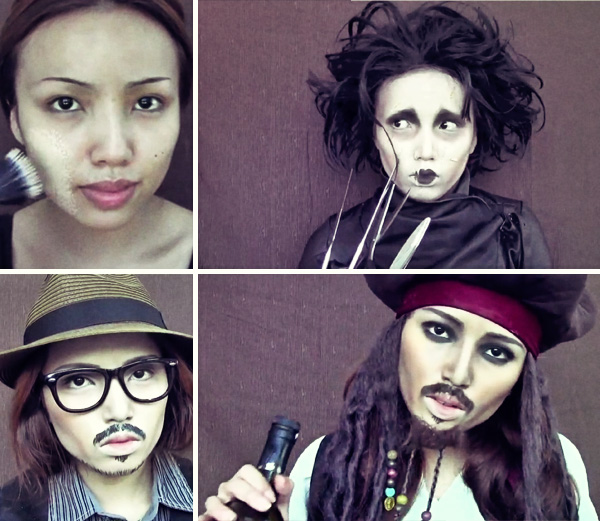 Makeup Artist Transforms Herself Into Johnny Depp In 3 Minute Video