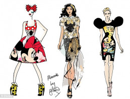Minnie Mouse Tribute To Take Place At London Fashion Week