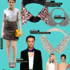 Now Trending: Statement Collars