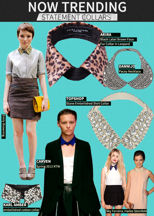 Trend Report: Statement Collars