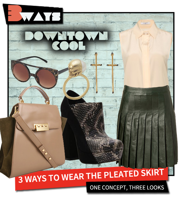 Pretty in Pleats – 3 Ways to Wear the Pleated Skirt (3)