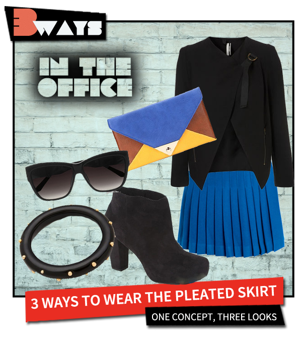 Pretty in Pleats – 3 Ways to Wear the Pleated Skirt (2)