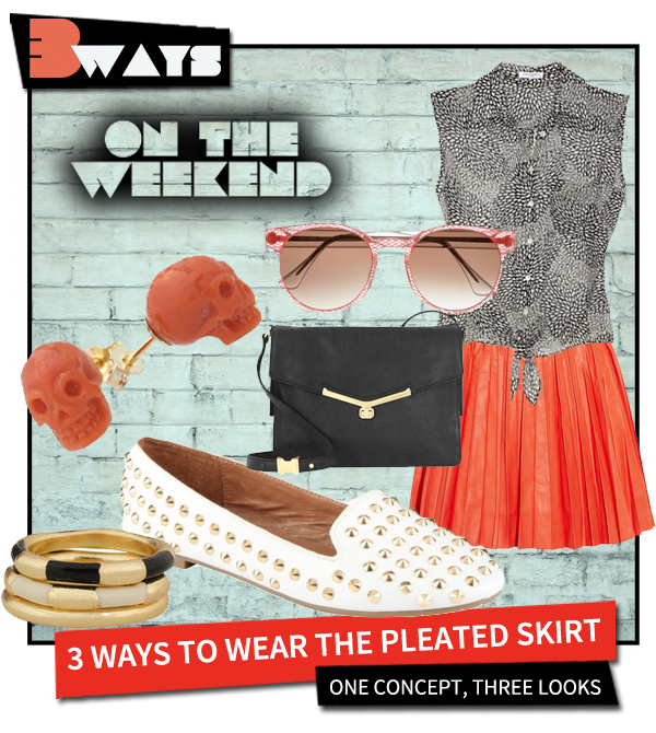 Pretty in Pleats – 3 Ways to Wear the Pleated Skirt (1)