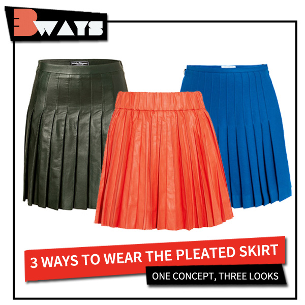 Pretty in Pleats – 3 Ways to Wear the Pleated Skirt (4)
