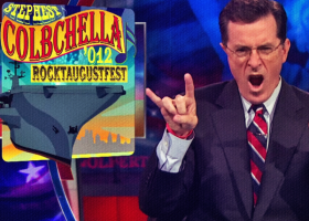 "Stephen Colbert's ""StePhest Colbchella '012"" To Feature The Flaming Lips, Santigold, Grizzly Bear, And Fun"