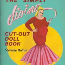 Cult-Figure Divine Immortalized in a Paper Doll Book