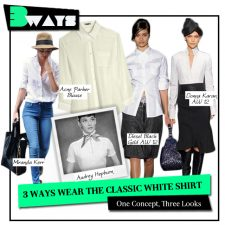 3 Ways to Wear the Classic White Shirt