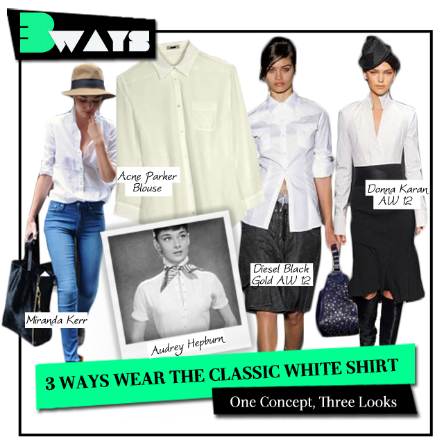 3 Ways to Wear the Classic White Shirt (1)