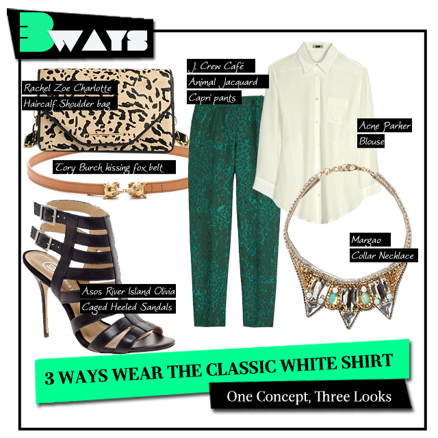 3 Ways to Wear the Classic White Shirt (2)