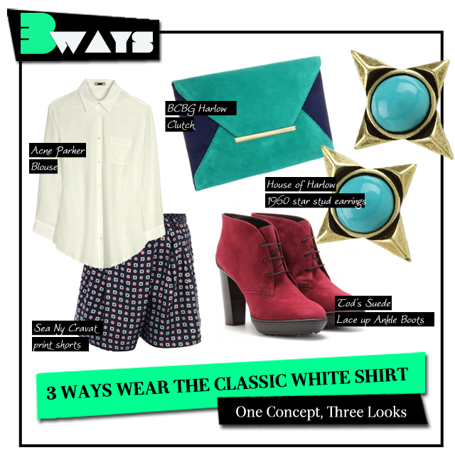 3 Ways to Wear the Classic White Shirt (3)