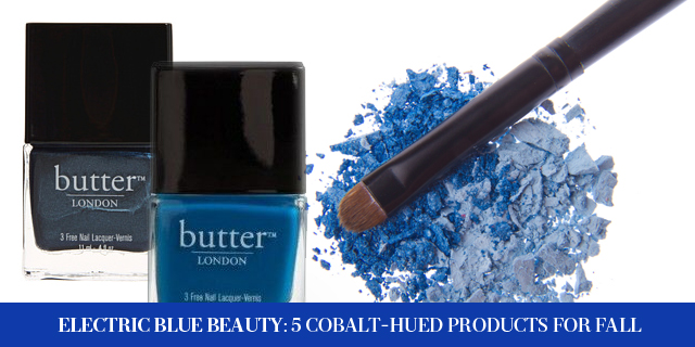 Electric Blue Beauty: 5 Cobalt-Hued Products For Fall (3)