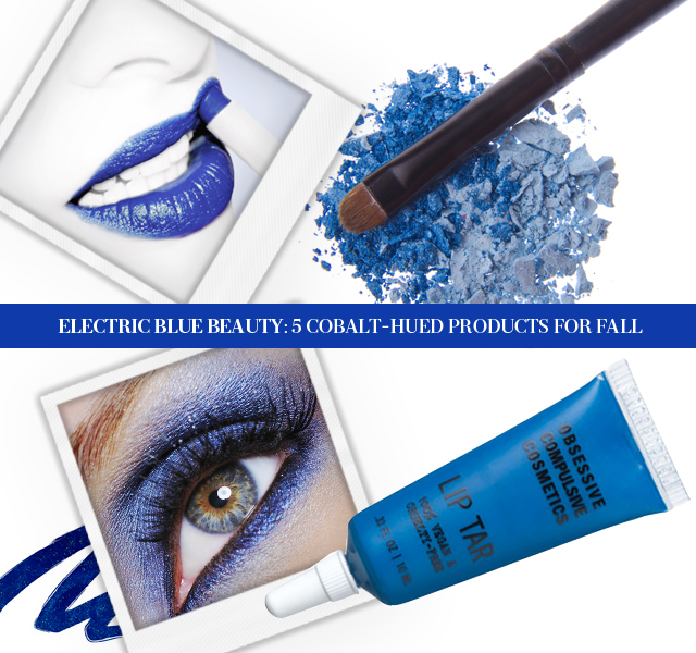 Electric Blue Beauty: 5 Cobalt-Hued Products For Fall (1)